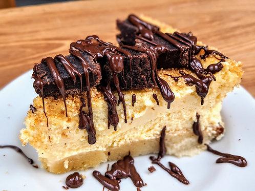 Brownie Explosion Cheesecake