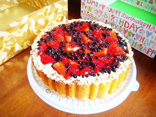 Berry-Forest Cheesecake
