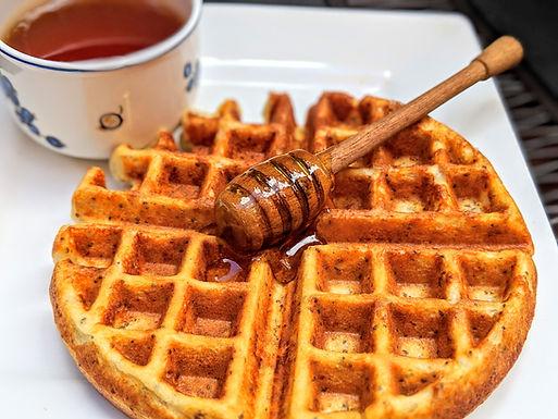 Waffles de Yogur Griego con Linaza y Semillas de Chía 2 unidades