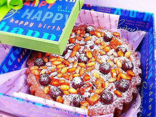 Truffles & Almond Amaretto Cake
