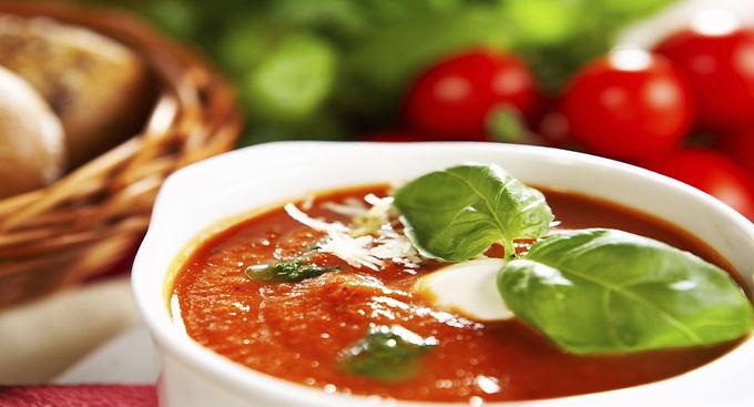 Crema de Tomate y Albahaca para 4 personas