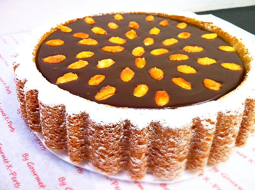 Chocolate Fudge Almond Cake