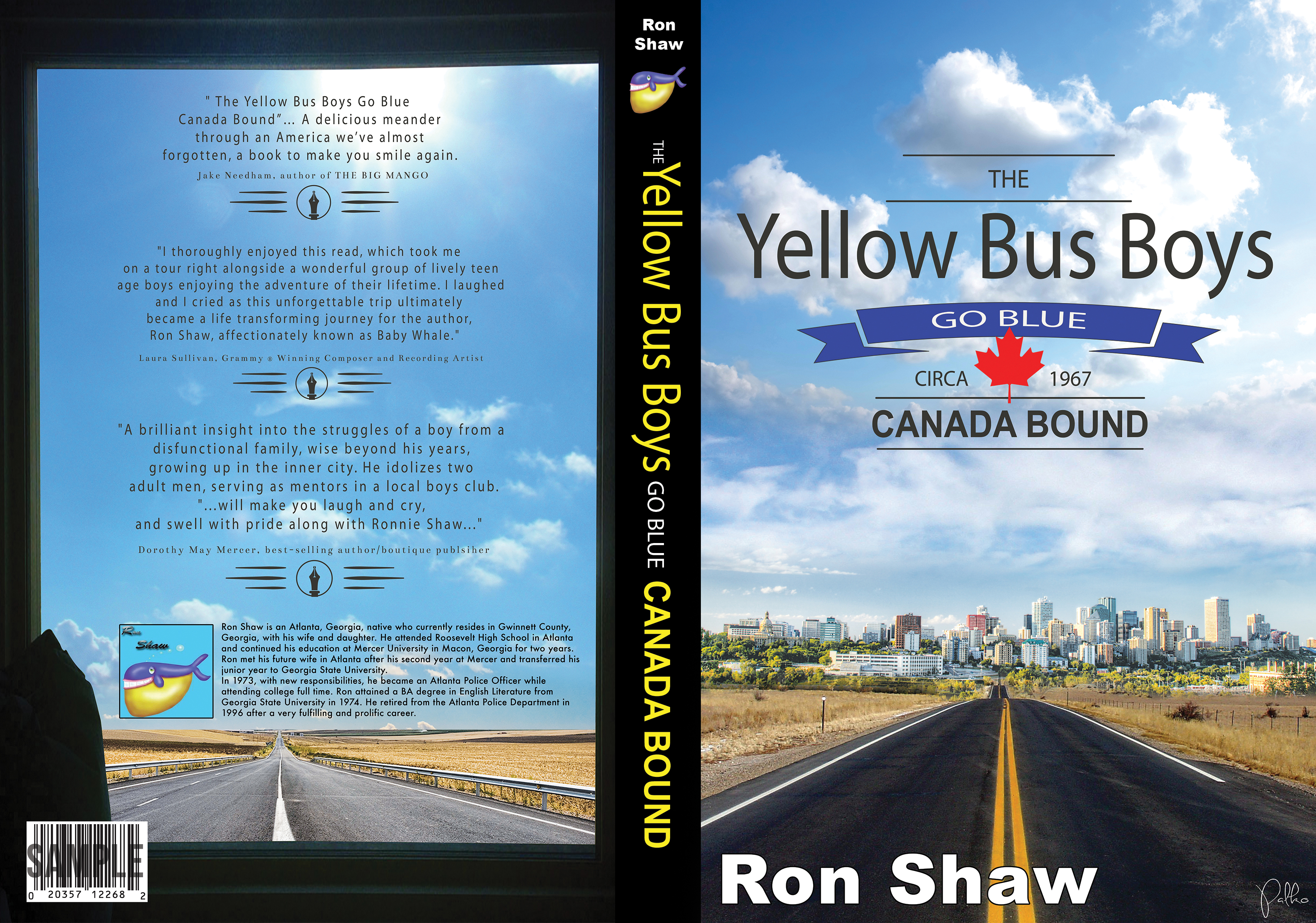 Yellow Bus Boys complete spread