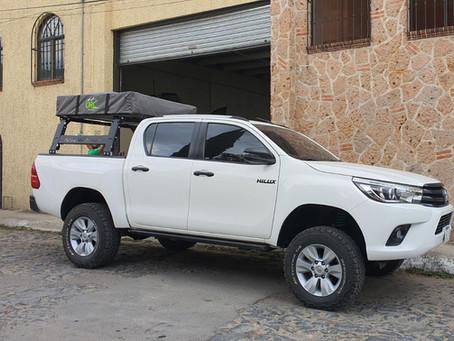 Tipos de vehículos Overlanding. Toyota Hilux