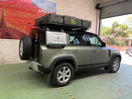 Tipos de vehículos para Overlanding. Land Rover Defender 2021