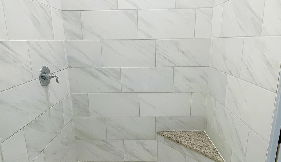 Master on Main Shower