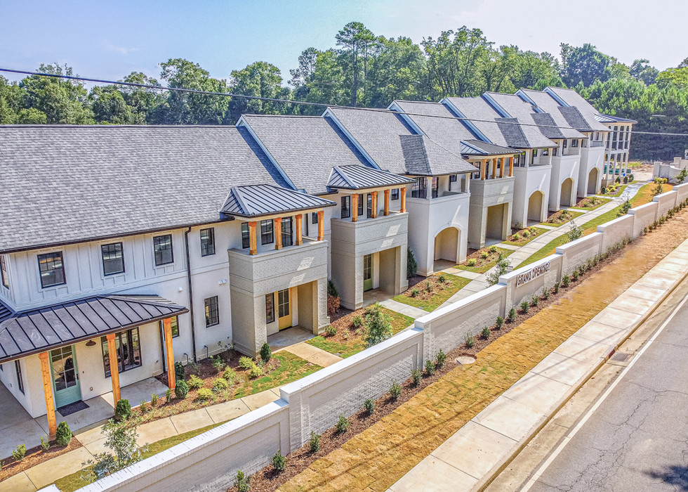 Aerial - Townhomes Front.jpg