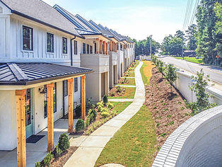 Aerial - Townhomes Front-Side View.jpg