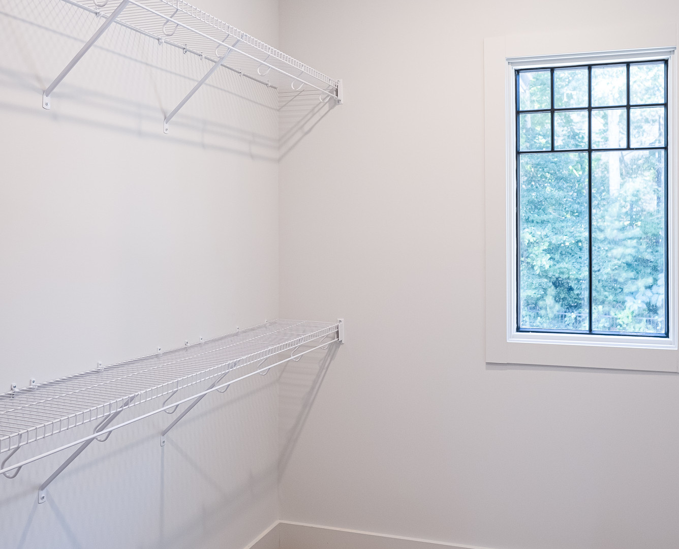 Upstairs Guest Room Walk-In Closet