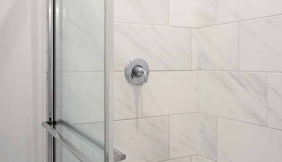 Main Level Master Bathroom Shower