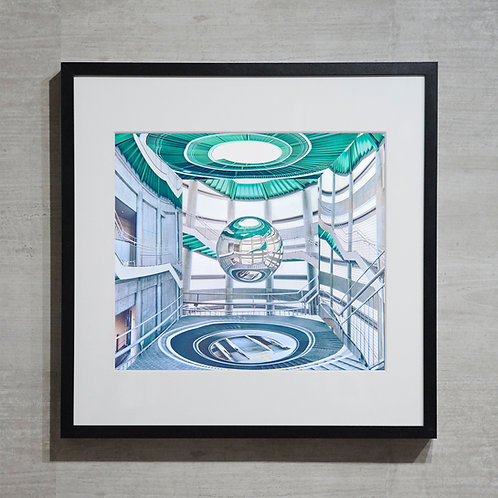 mirror ball -32-  オリジナルプリント
