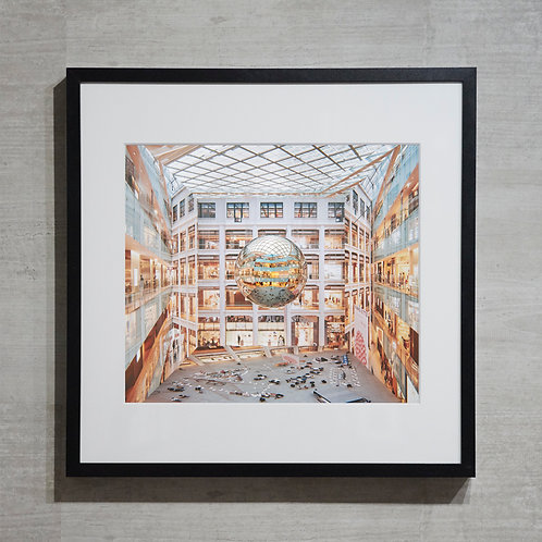 mirror ball -7-  オリジナルプリント