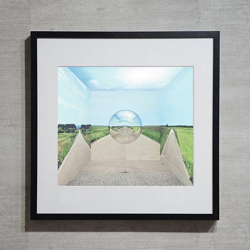 mirror ball -35-  オリジナルプリント