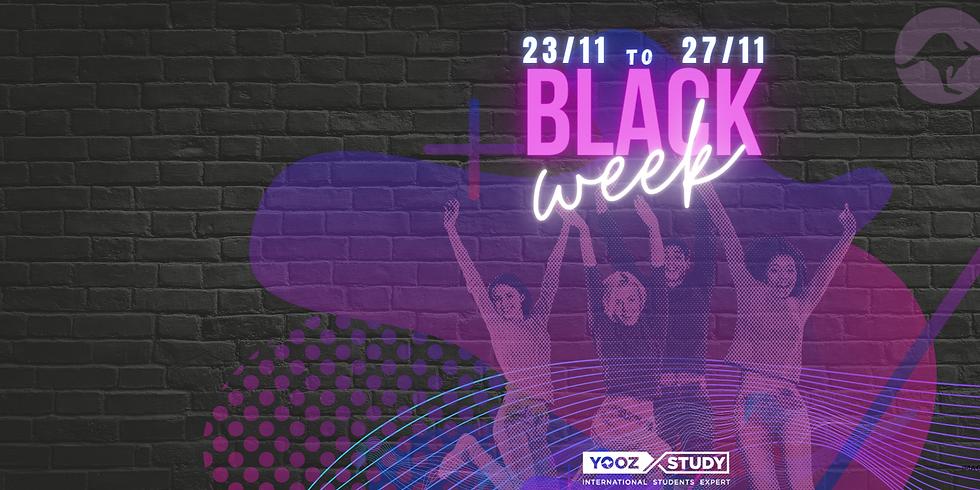 Black Week - Começou a maior feira de ofertas da história da YOOZ STUDY!