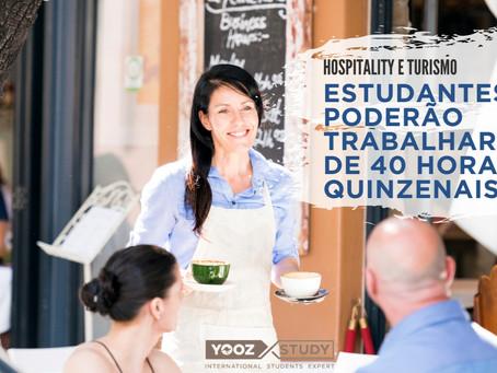 COVID-19: Setor de Hospitality permitirá que estudantes trabalhem mais de 40 horas quinzenais