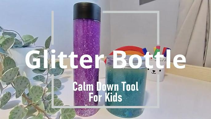 Glitter Bottle DIY