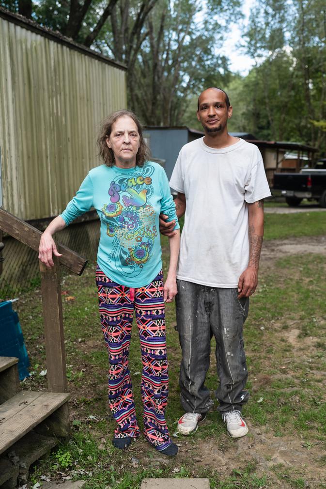 Mother & Son, Clayton, Georgia