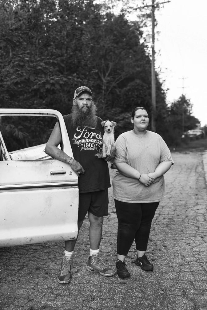 Father & daughter, Clayton, Georgia