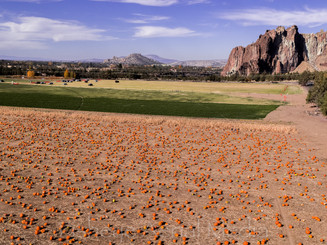 Smith Rock and Pumpkins