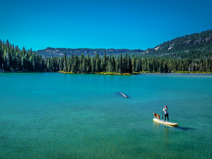Cascade Lake Paddle Board