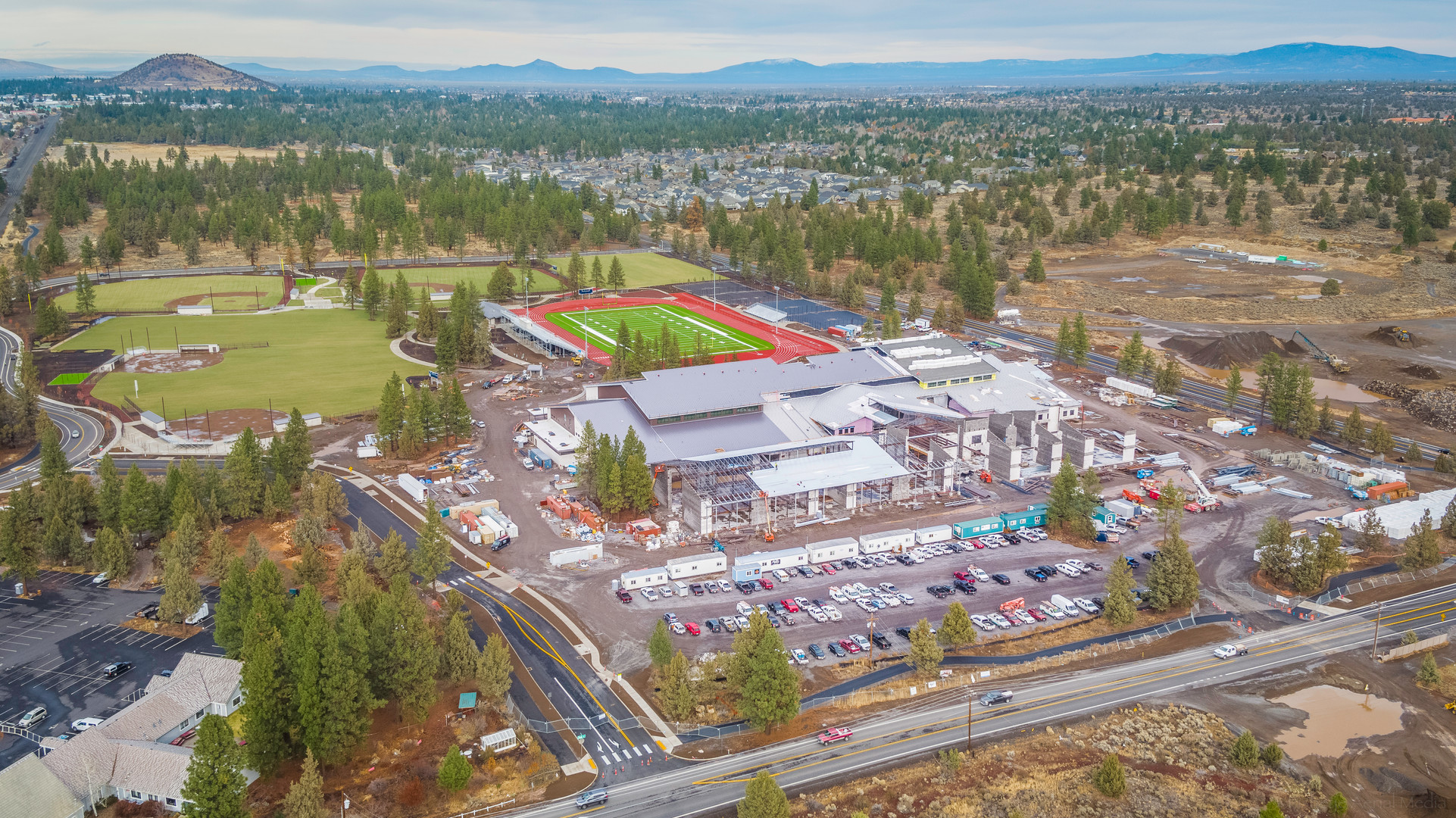 New Bend Caldera High School