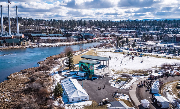 2019 WinterFest Aerials- Old Mill, Bend-