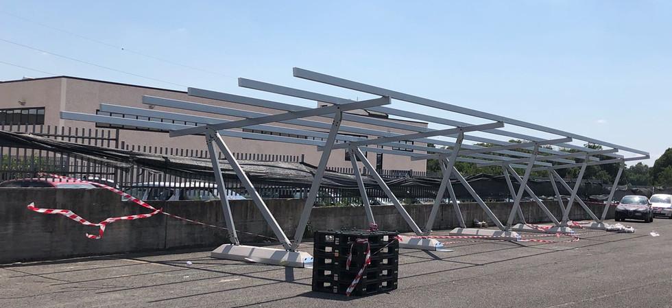 Pensilina-Fotovoltaica