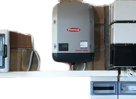 Impianto Fotovoltaico con Accumulo - Sistema di storage SolarWatt