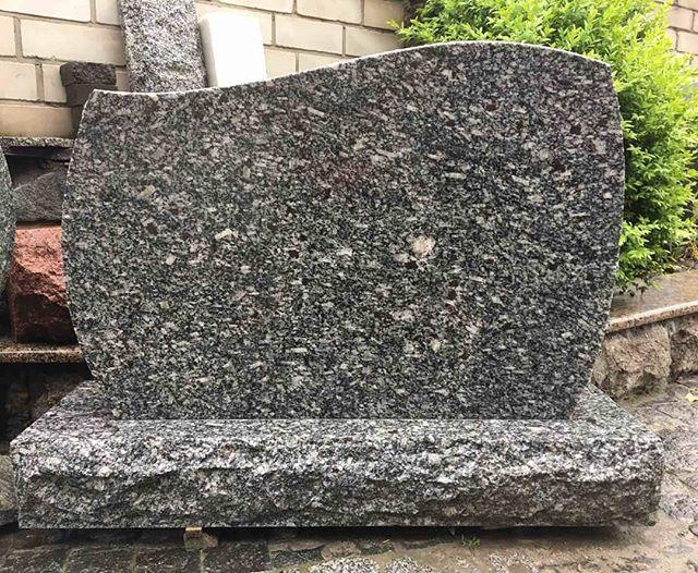 Gray cemetery monument