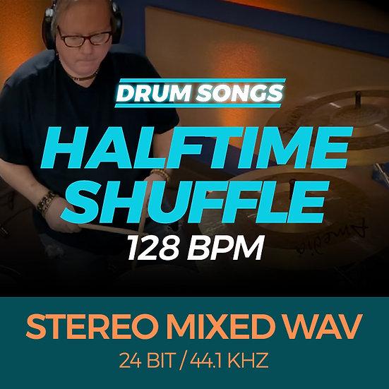 DRUM SONGS Halftime Shuffle 128bpm STEREO MIXED WAV