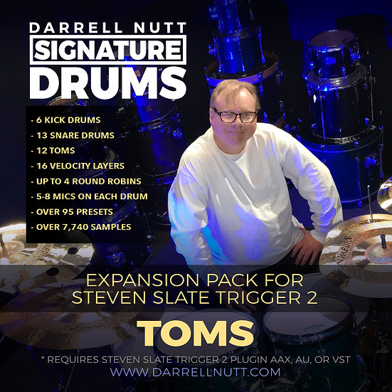 DN Signature Drums - TOMS for SLATE TRIGGER 2