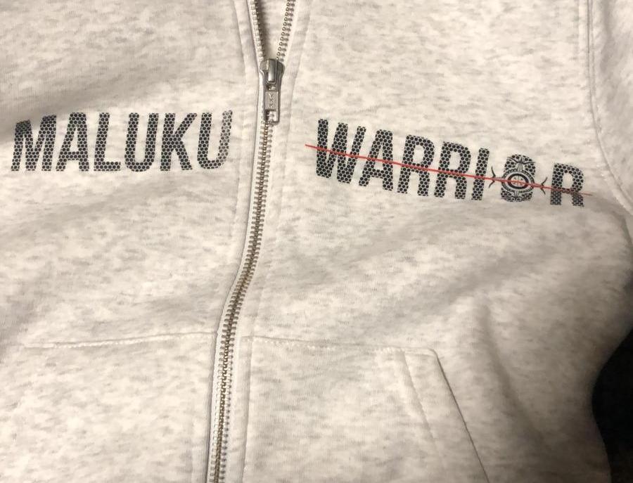Maluku warrior VEST WIT