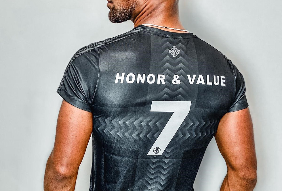 HONOR AND VALUE SOCCER TEE KIDS