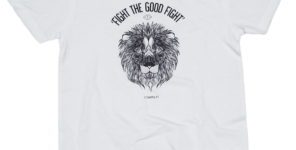 FIGHT THE GOOD FIGHT BLACK/WHITE