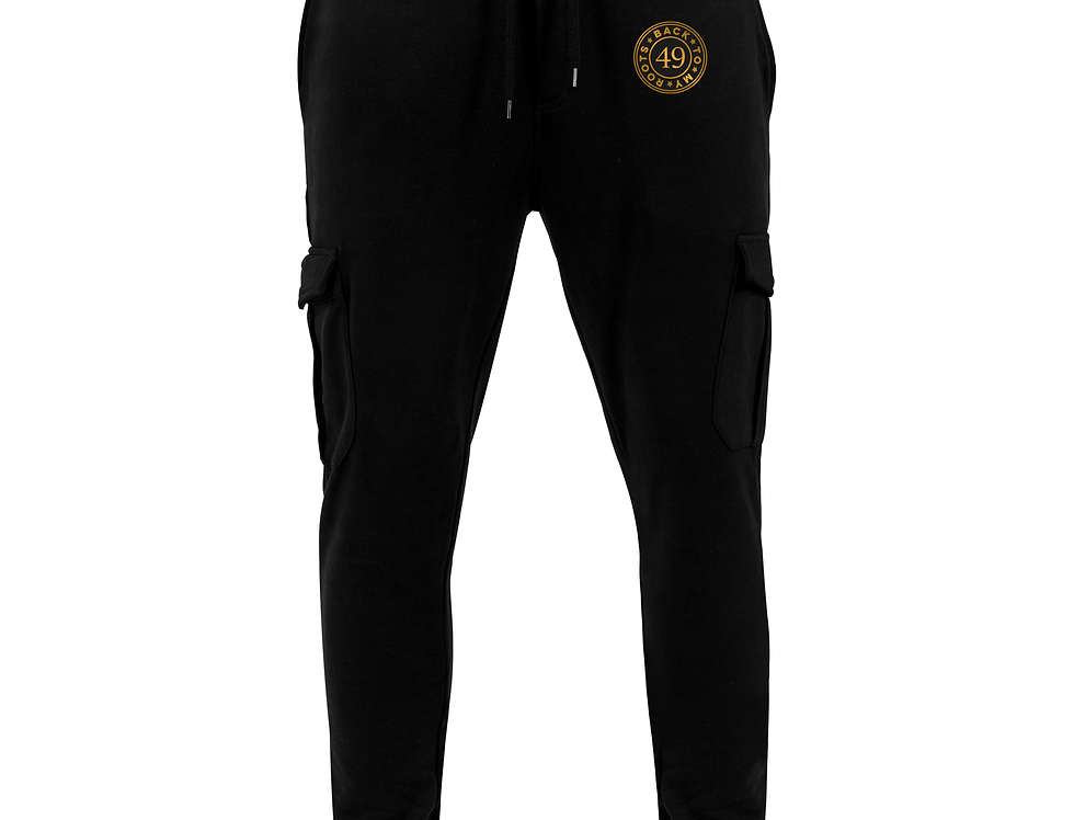 Fitted cargo sweatpants indo 49