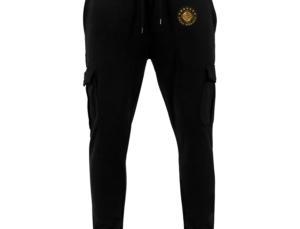 Fitted cargo sweatpants ANAK MALUKU