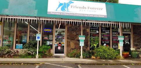 Friends Forever Pet Food Store in Kirkland WA