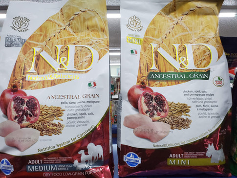 Dog food at Friends Forever Pet Food Store in Kirkland WA