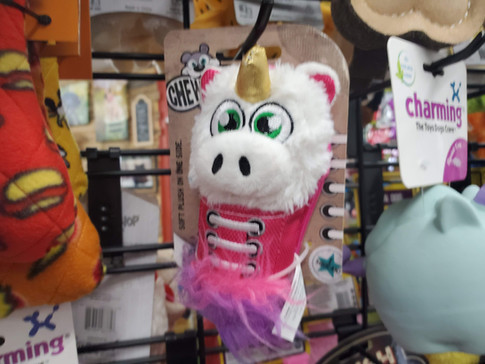 Dog toys at Friends Forever Pet Food Store in Kirkland WA