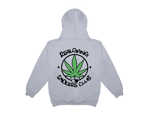 Smokers Club Hoody - Grey