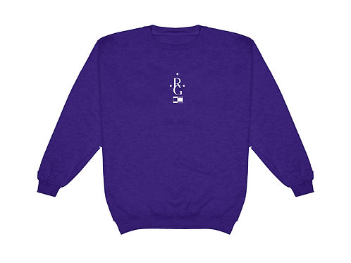 Vintage Jumper - Purple
