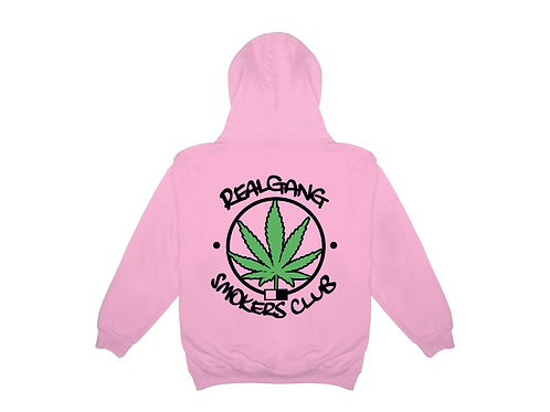 Smokers Club Hoody - Pink