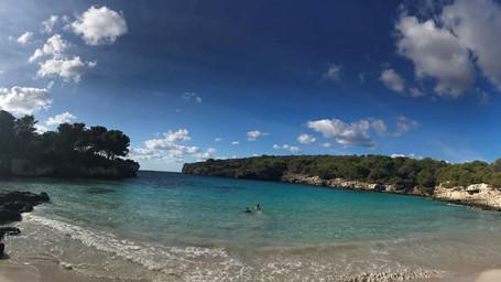 Les plages sur l'île de Minorque