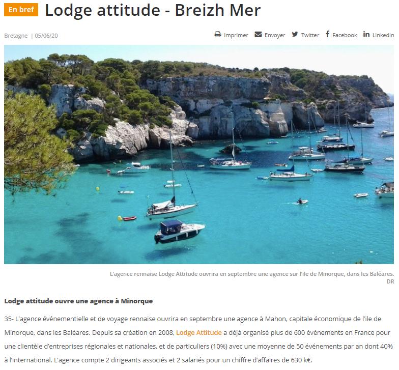 Menorca Island by Lodge Attitude | Voyage et événement sur mesure | Agence réceptive sur l'île de Minorque