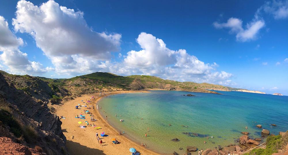 L'empreinte durable autour de la plage Cavalleria à Minorque