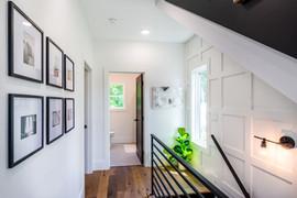 Second floor bedroom hallway