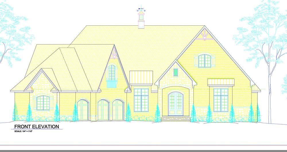 Custom house plans in Muscle Shoals, AL