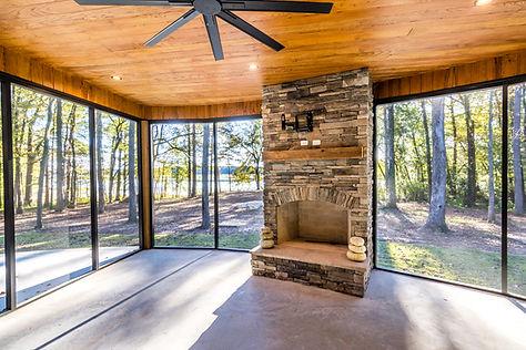 Custom lake house, custom built lake home, new custom home Pickwick Lake