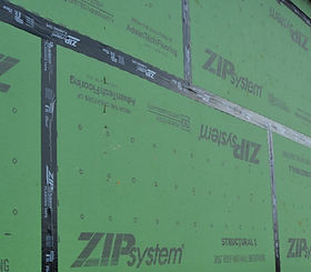 Huber Zip System Air Water Barrier High Cotton Homes Florence Muscle Shoals Home builder