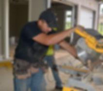 Josue Rivas High Cotton Homes custom home trim carpenter Florence, Muscle Shoals, St. Florian